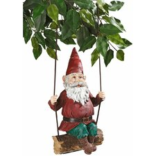 Sammy The Swinging Gnome Statue