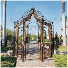 Amelie Garden 8 Ft. W x 8 Ft. D Steel Pergola