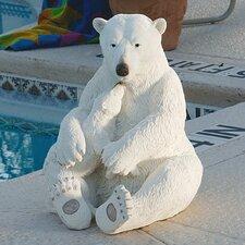 The Polar Bear Pair Statue