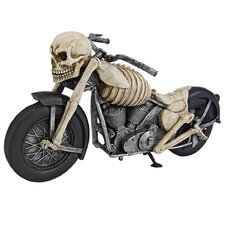 Bone Chillin Skeleton Motorcycle Figurine