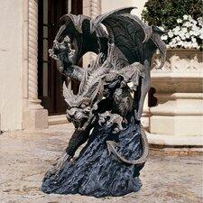 Scatheus Guardian of The Shadows Gargoyle Statue