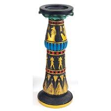 Temple of Luxor Sculptural Egyptian Rameses Candleholder