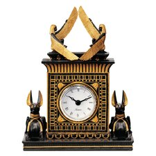 Anubis Egyptian Revival Sculptural Clock