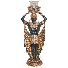 Egyptian Nubian Male Altar Candleholder