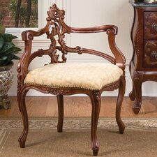 French Salon Corner Side Chair