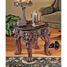 Lord Raffles Lion Leg End Table