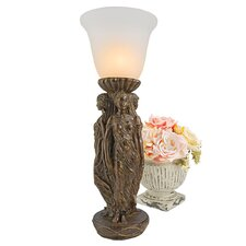 """Three Graces 27"""" H Table Lamp with Bell Shade (Set of 2)"""