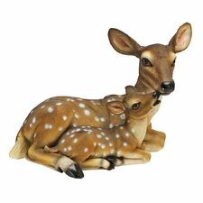 Mothers Love, Doe and Fawn Statue