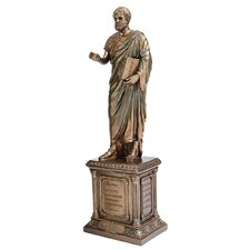 Master of Philosophy Aristotle Figurine
