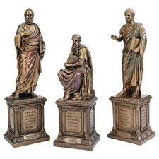 Master of Philosophy 3 Piece Figurine Set