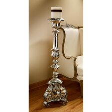 European Scroll - Footed Candlestick