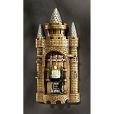 Castle Tower Gothic Resin Votive