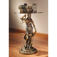 Blind Justice Sculptural End Table