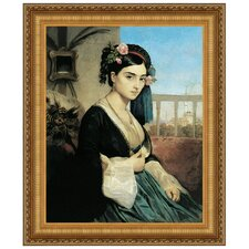 Woman of the Orient, 1840 by Charles Gleyre Framed Painting Print