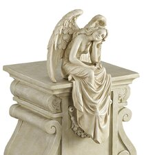 Resting Grace Sitting Angel Statue