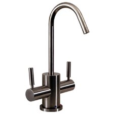 Forever Hot FX Two Handle Single Hole Instant Hot and Cold Water Dispenser Kitchen Faucet