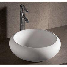 Isabella Round Bathroom Sink with Center Drain