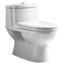 Magicflush Traditional Dual Flush 1.6 GPF Elongated Toilet 1 Piece