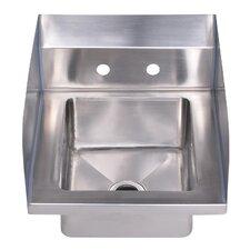 "Noah's 14"" x 16.5"" Single Bowl Drop-In Hand Kitchen Sink"