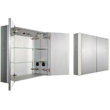 """Musichaus 35"""" x 27.5"""" Surface Mount Medicine Cabinet"""
