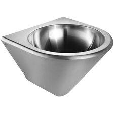 "Noah 14.5"" Single Bowl Wall Mount Commercial Wash Basin Vanity Set"