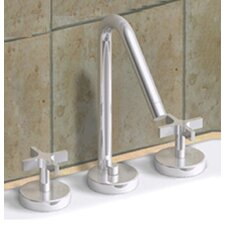 Metrohaus Widespread Bathroom Faucet with Double Cross Handles