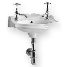 China Rectangular Wall-Mount Bathroom Sink