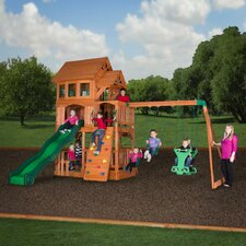 Liberty II All Cedar Swing Set