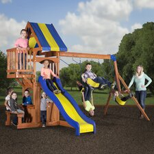 Peninsula All Cedar Swing Set