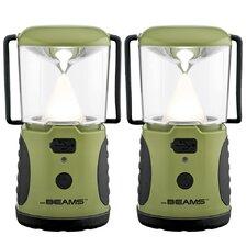 UltraBright 260 Weatherproof Lumen LED Lantern with USB Port (Set of 2)
