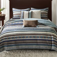 Malone 6 Piece Quilted Coverlet Set