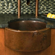 "19"" x 19"" Fiesta Copper Bar Sink"