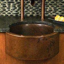 """19"""" x 19"""" Fiesta Copper Bar Sink"""