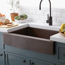 "Renewal 33"" x 22"" Paragon Copper Kitchen Sink"
