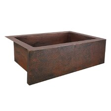 "Pinnacle 33"" x 22"" Copper Kitchen Sink"