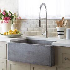 "Farmhouse 30"" x 18"" Stone Kitchen Sink"