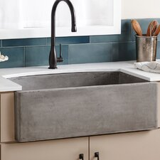 "Farmhouse 33"" x 20.5"" Quartet Kitchen Sink"