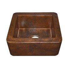 "Cabana 16"" x 7.5"" Copper Bar Sink"