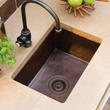"Cocina 21.5"" x 16"" Copper Kitchen Sink"