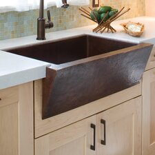 "33"" x 22"" Zuma Copper Kitchen Sink"