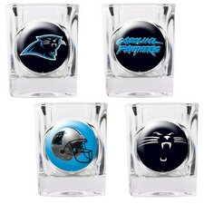 4 Piece NFL Collector's Shot Glass Set