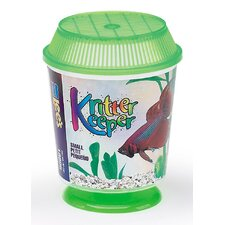 Kritter Keeper Round Fish Home Aquarium Bowl (Set of 3)