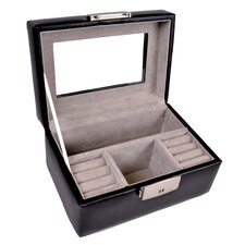 Genuine Leather Luxury Jewelry Watch Box