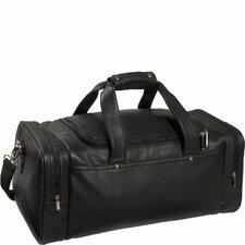 """Luxury Genuine 21.5"""" Leather Gym Duffel"""
