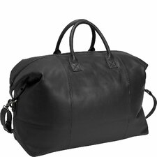 Royce Leather Travel Duffel Overnight Bag in Genuine Leather