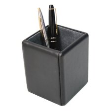 Genuine Leather Executive Pen Pencil Accessory Organizer