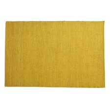 Tatami Yellow Area Rug