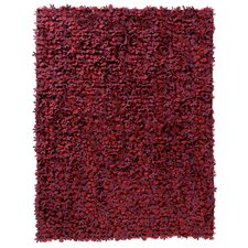 Little Field Of Flowers Reds Area Rug