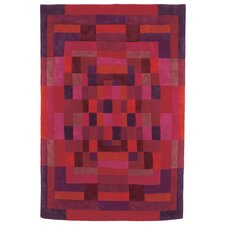 Sybilla Mosaico Red Area Rug
