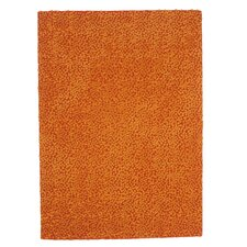 Topissimo Simple Orange Area Rug